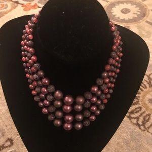 Jewelry - Vintage Quadruple Strands of Beads